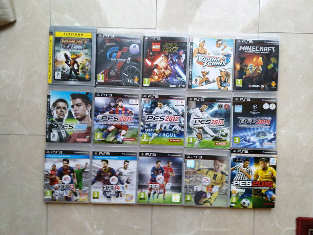 Ps3 Games Bundle By Scientific Process Original Game Cases & Boxes