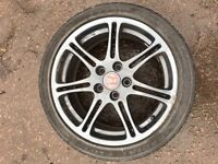 "Honda Civic Type R EP3 alloy wheel rim genuine 17"" inch spare 2001 2002 2003 2004 2005"