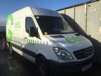 Mercedes Sprinter 311 cdi lwb 2008 year - Parts injector - turbo - light - seat - gearbox - engine
