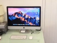 """IMac 27"""" (late 2013) 3.2 Ghz Intel core i5 chip, 8 GB 1600 MHz DDR3, 1Tb HD, immaculate condition."""