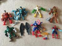 Selection of Marvels Super Hero Mashers