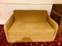 Settee sofa two seater good condition, ready for collection