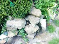 1/2 ton of yorkshire stone