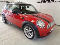 2009 59reg Mini Cooper 1.6 Red 31k miles Alloys Air Con CD 1 Owner 3 door 6 Speed HPi Clear