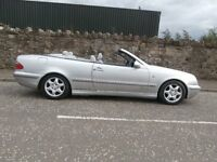 MERCEDES 230 CLK KOMPRESSOR ELEGANCE CONVERTIBLE AUTOMATIC - MOT ,D MAY 2017 - BARGAIN !!