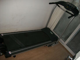 Treadmill running machine foldable in excellent condition on sale by Lewisham