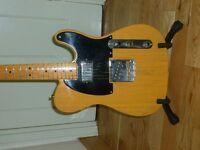 Fender Telecaster Vintage Hotrod 52. Maple Fingerboard Butterscotch Blond. 2008.