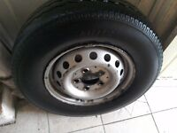 Spare van wheel with quality tyree for sale