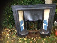 antique fire place £50