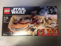 Lego 75173 - Star Wars Lukes Landspeeder - Brand New in the Box and Sealed
