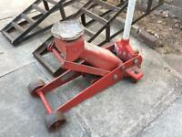 Trolley jack and ramp