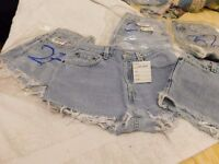 Vintage Levis shorts , Whole sale, cleaned and re-worked , Various sizes , Grade A/B