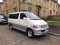 Toyota regius hiace 8 seater very good condition FSH rare