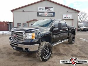 2008 GMC SIERRA 2500HD SLT LIFTED DURAMAX DIESEL!!