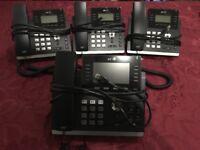 SIP phones. 3x BT-T41P 1x BT-T46G. Brand new