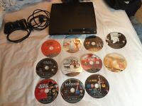 Play Station 3 for Sale - Controller & 11 games included
