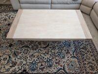 Cream Marble Coffee Table