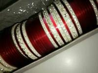 Indian wedding bangle set size small
