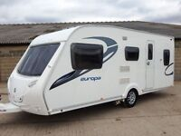 Sterling europa 530 5 berth caravan 2010