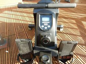 BR3050 BODY SCULPTURE FOLDING ROWING MACHINE In Good Condition. No Manual but available online.