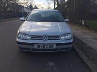 VW golf for sale, MOT, drives well, cheap.