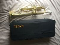 Excel Trumpet, great item nearly new with soft carry case