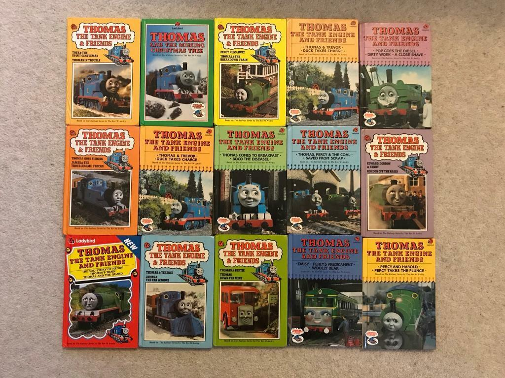 Collection of 14 Ladybird Thomas the Tank Engine Books