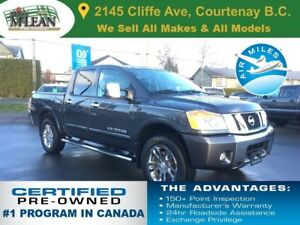 2012 Nissan Titan SL Leather Heated Seats Sunroof