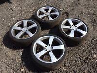 "Vauxhall Vivaro Renault Trafic Nissan Primastar tsw alloy wheels 19"""