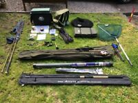 REDUCED selection of fishing equipment