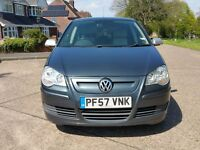 VW POLO BLUEMOTION 2, with AC no Road Tax Cost
