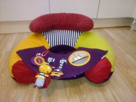 Mamas and Papas Babyplay Sit & Play Infant Positioner Inflatable Floor Seat - Baby sofa