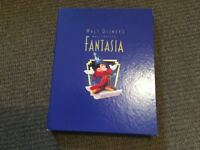 disney fantasia deluxe collectors edition box set vhs lithograph book and cd's