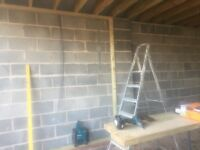 Timber Studwork Partitioning