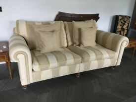 Duresta three seater, two seater and chair. Excellent condition.