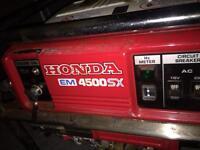 Honda em 4500 sx generator