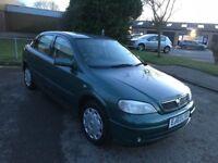 2003 Vauxhall Astra 1.6 auto low mileage 12 months mot