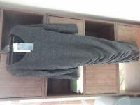 Grey maternity dress size 8