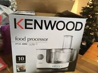 Kenwood food processor, hardly used , in the original box.