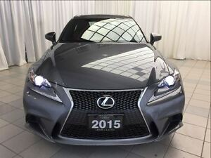 2015 Lexus IS 250 F Sport: 1 Owner, AWD.