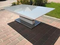Grey white gloss Coffee Table