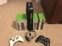 Xbox 360 Elite 120GB - with games