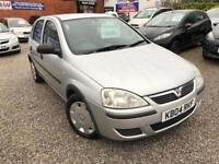 04 VAUXHALL CORSA LIFE 1.2 PETROL IN SILVER *PX WELCOME* 12 MONTHS MOT