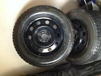 Like New Ford Escape Winter Tires with Rims