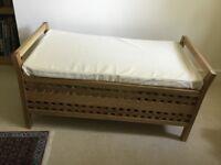 Bamboo storage chest