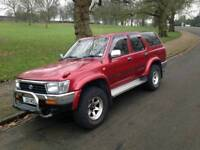 Hilux surf 1 year MOT good condition