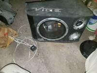 Vibe Black Air Bandpass B12 Subwoofer