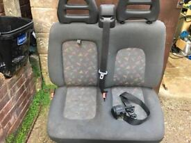 Van bus camper seats