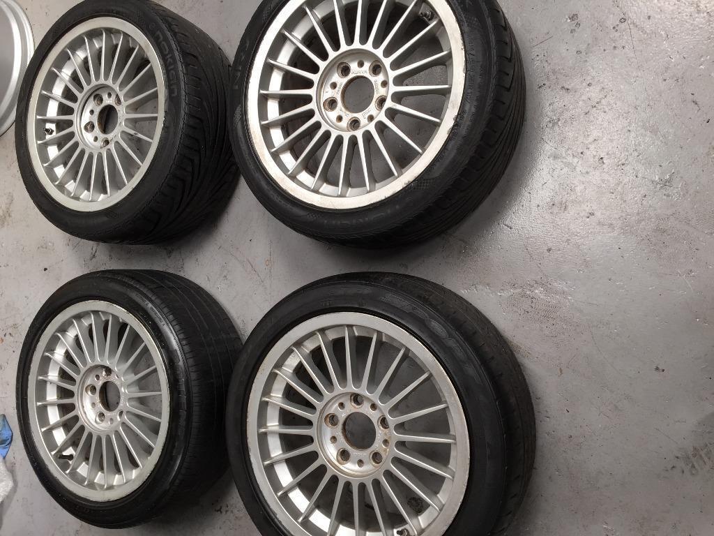 Genuine 17 Quot Alpina Softline Alloy Wheels 5x120 Bmw E36 E46