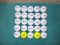 25 x SRIXON AD333/AD333 Tour GOLF BALLS - Good, playable condition.